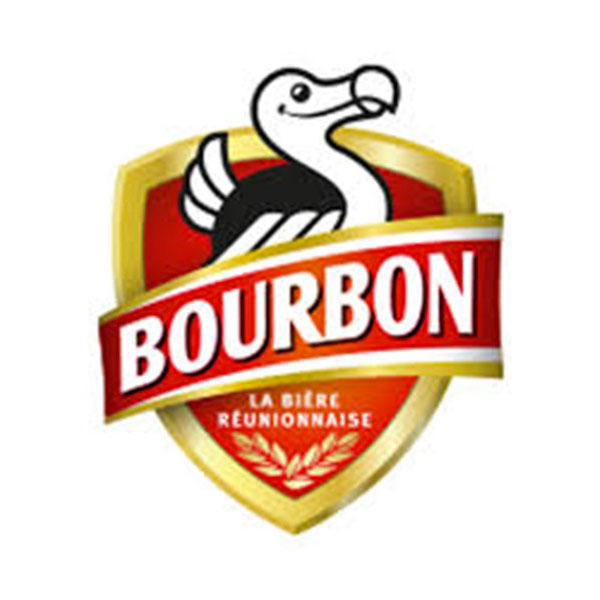 logo de la marque Bourbon, bière reunionnaise
