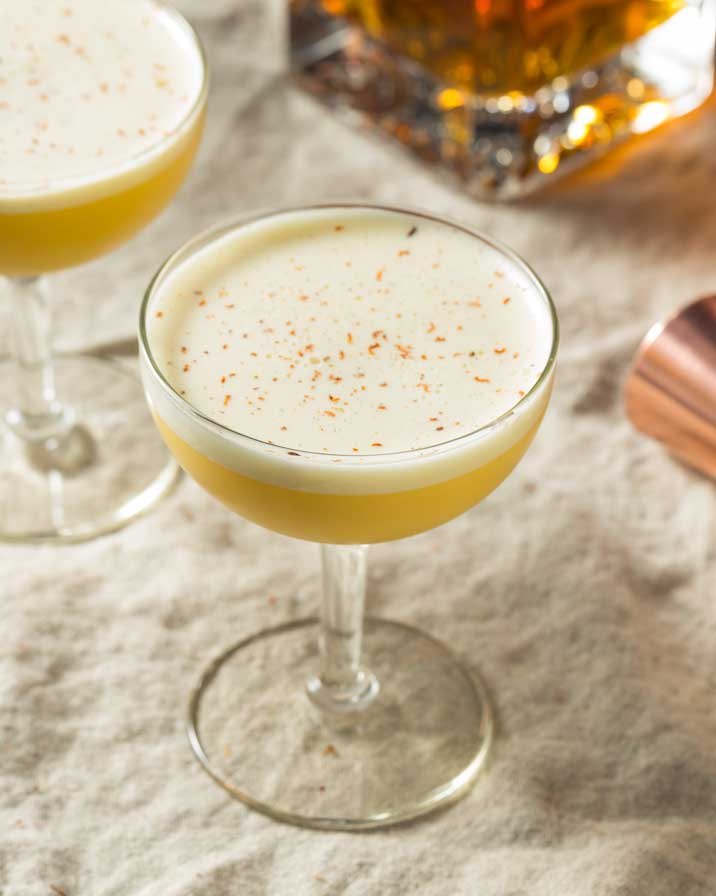 cocktail rhum sour