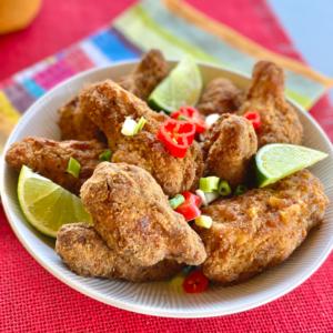 Photo recette poulet croustillant à l