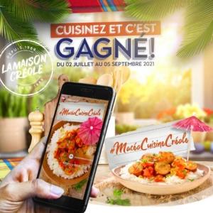 Visuel Jeu concours La Maison créole Cuisinez et c