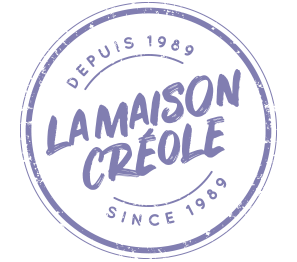 logo la maison creole violet