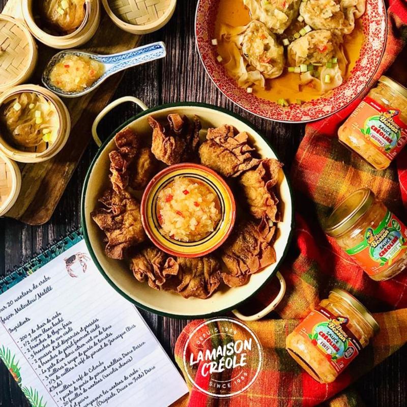 recette antillaise facile boulette de crabe dame besson Maceo la Maison Creole